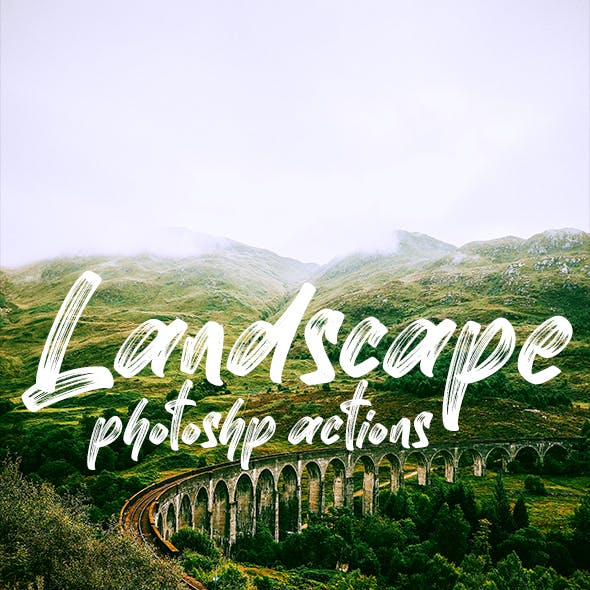 Landscapes Tones - Photoshop