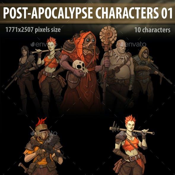 Post Apocalypse Characters 01