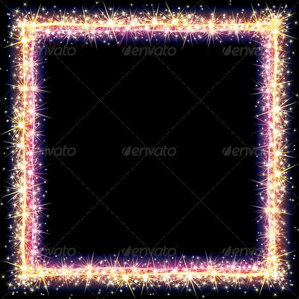 Frame Sparks - Borders Decorative