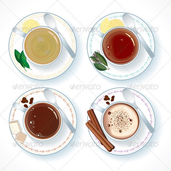 Hot Drinks - Food Objects