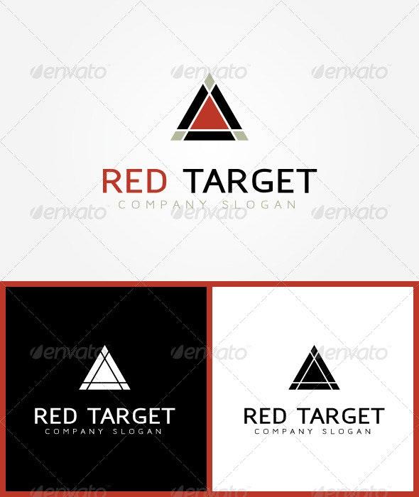 Red Target Logo - Symbols Logo Templates