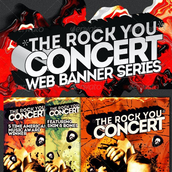 Concert & Event Web Banners & AD Kit PSD - 2