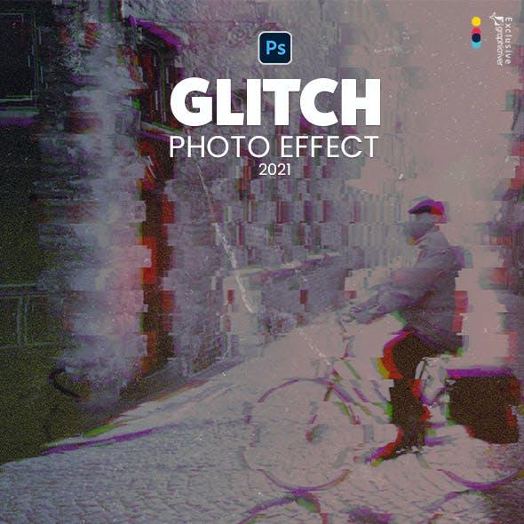 Glitch Master Photo Effect