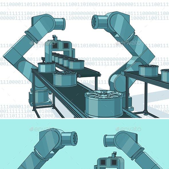 Robotic Industrial Line