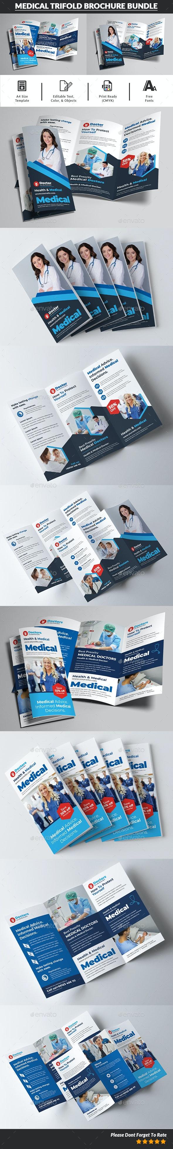 Medical Trifold Brochure Bundle - Corporate Brochures