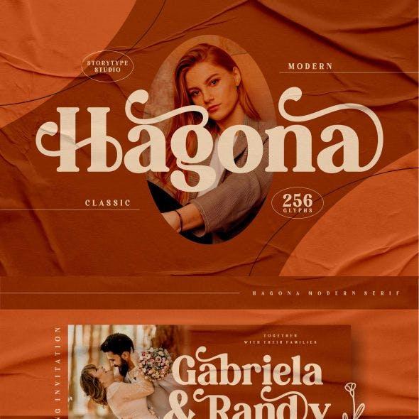 Hagona Typeface