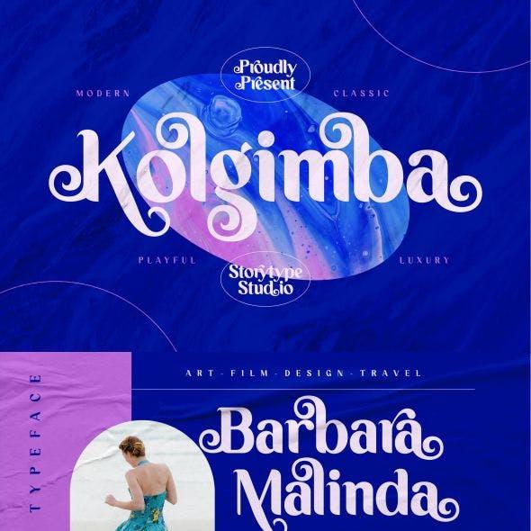 Kolgimba Typeface