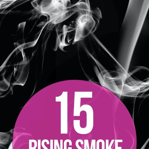 15 Rising Smoke Photoshop Brushes