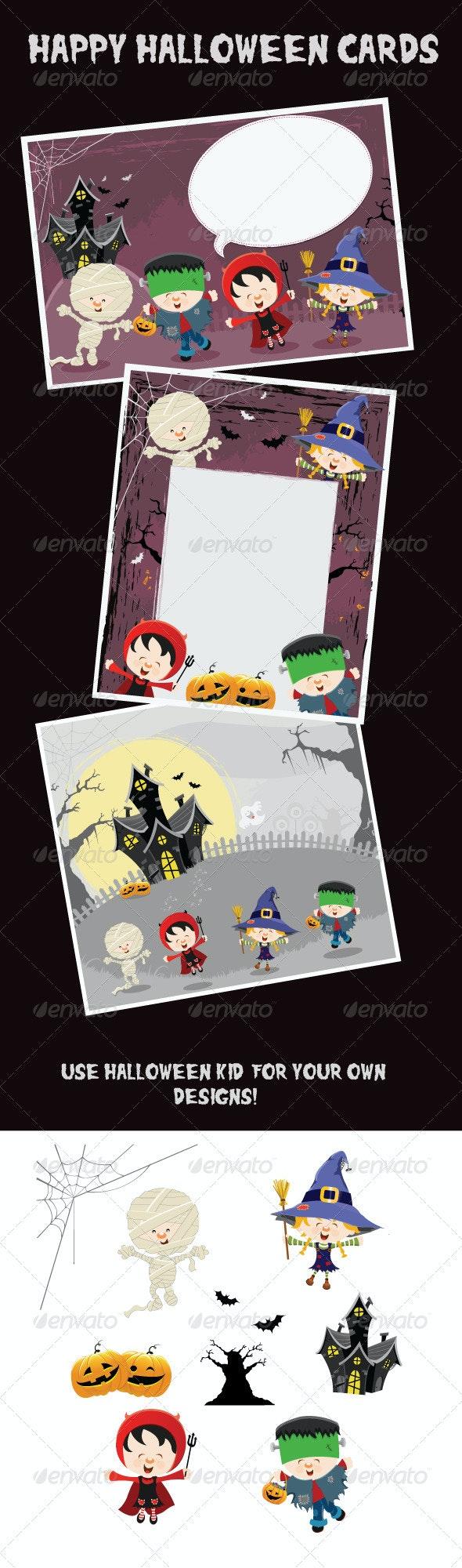 Happy Halloween Cards - Halloween Seasons/Holidays