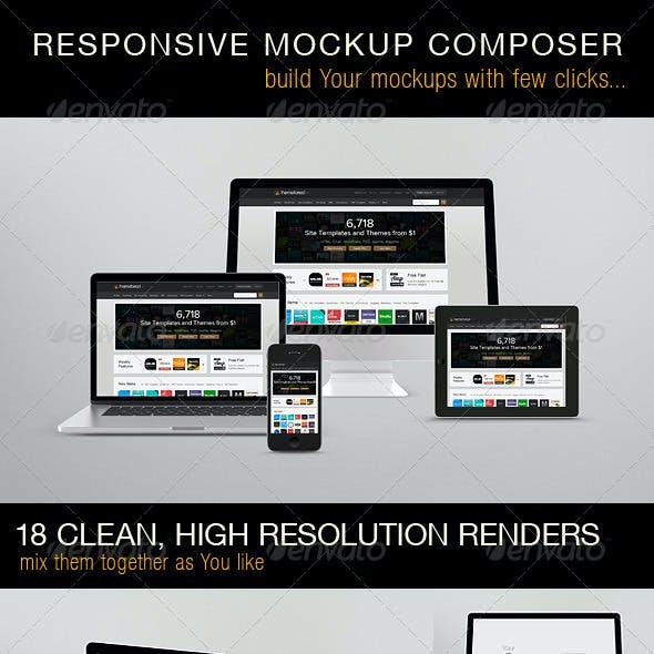 Responsive Mockups Composer