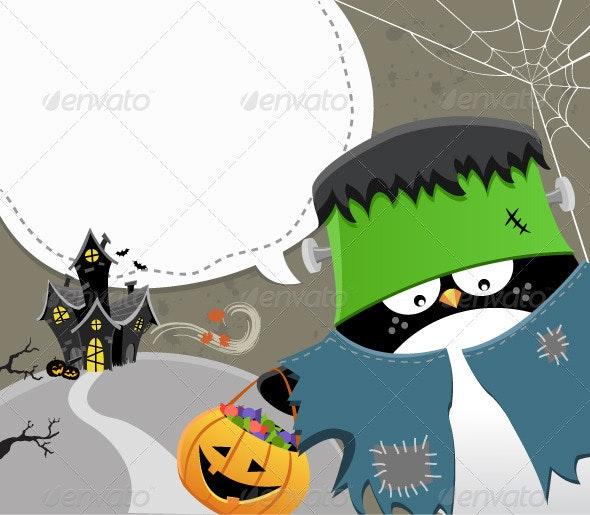 Halloween Frankenstein - Halloween Seasons/Holidays