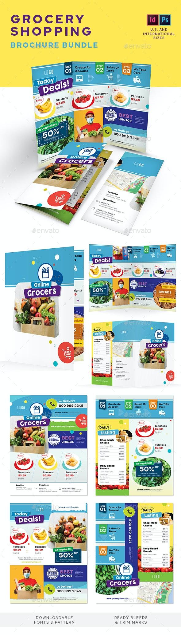 Grocery Shop Print Bundle - Informational Brochures