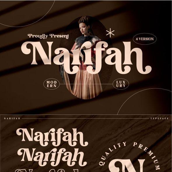 Narifah Typeface