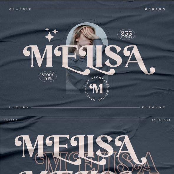 MELISA Typeface
