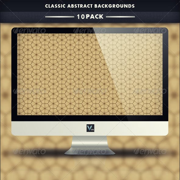 10 Pack - Classic Abstract Backgrounds