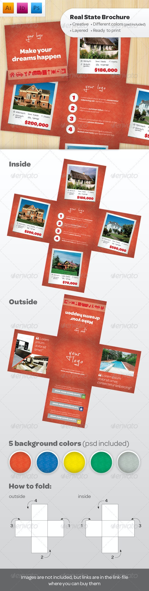 Real State Brochure - Catalogs Brochures