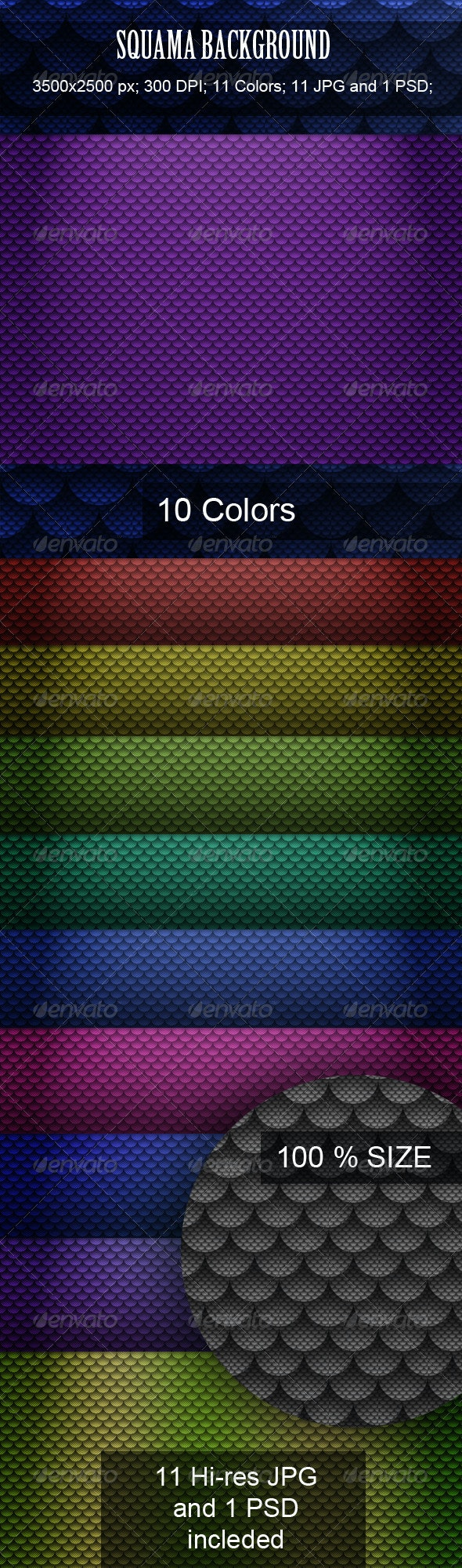 Squama Background - Patterns Backgrounds