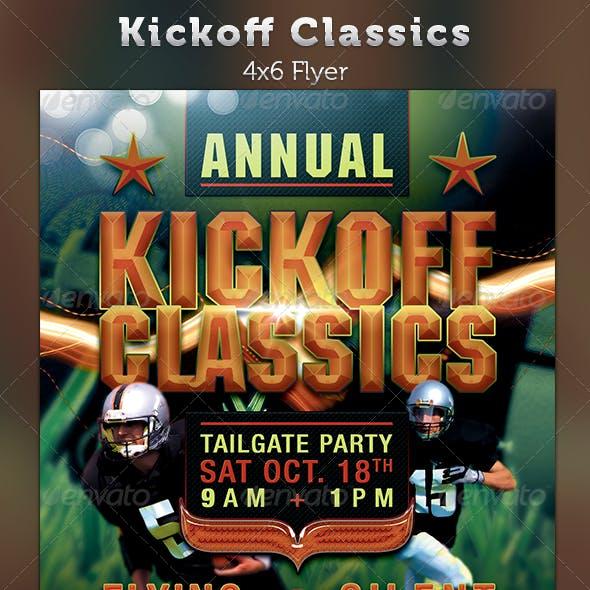 Kickoff Classics Football Flyer Template
