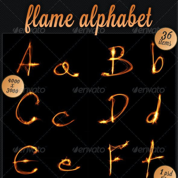 Flame Alphabet