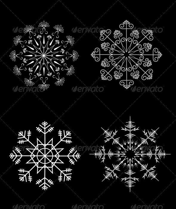 Options Snowflakes Ornaments - Christmas Seasons/Holidays
