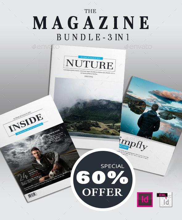Natural Magazine bundle - Magazines Print Templates