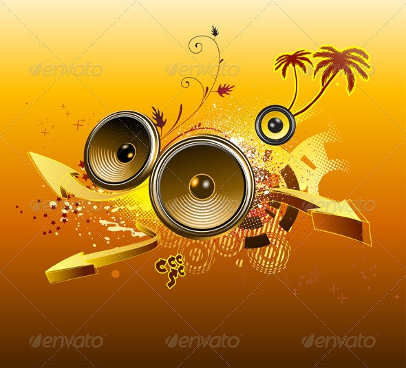 Abstract party background - Conceptual Vectors
