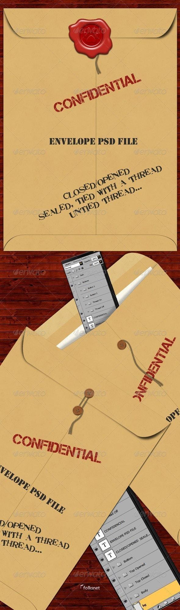 Envelope - Miscellaneous Graphics