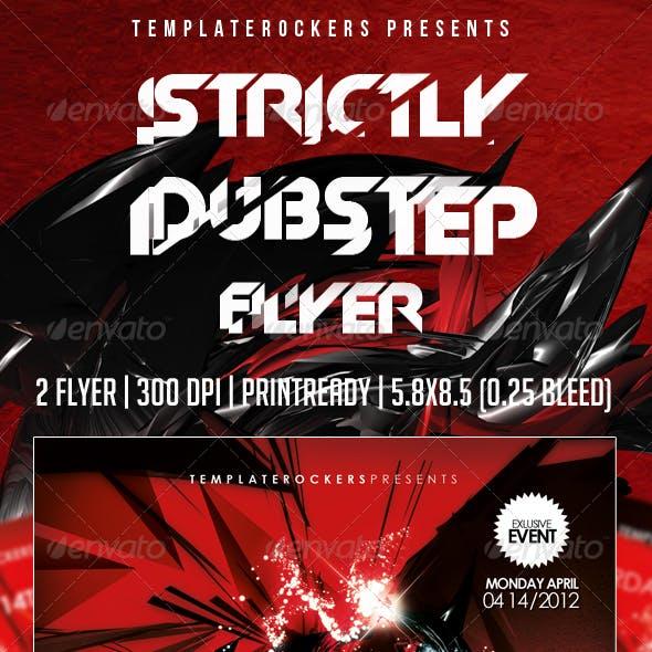 Strictly Dubstep Flyer