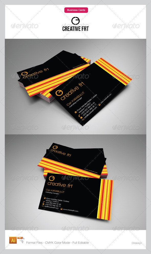 corporate business cards 34 - Creative Business Cards