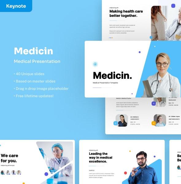 Medicin - Medical Keynote Presentation - Business Keynote Templates