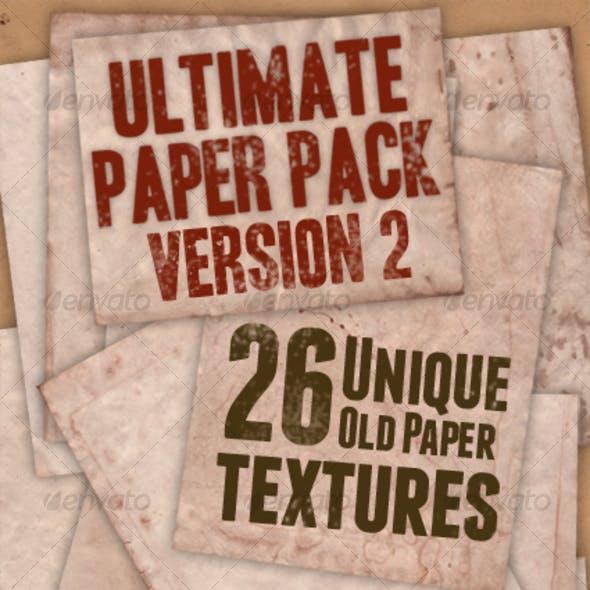 Ultimate Paper Pack: Version II