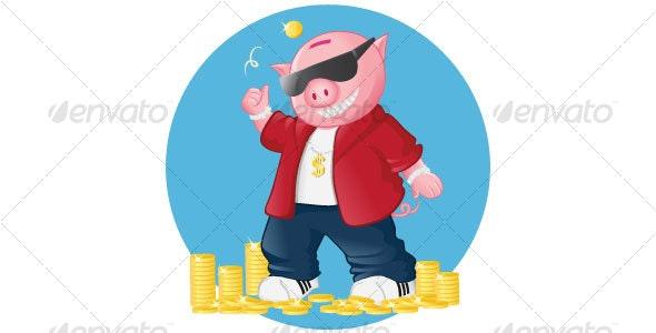 Piggy - Characters Vectors