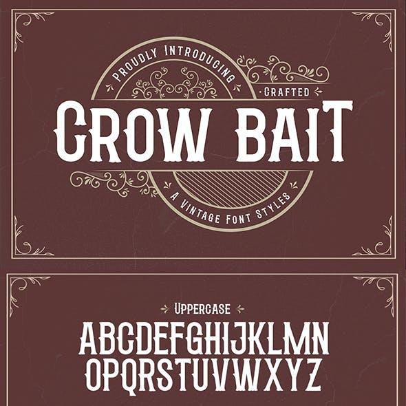 Crow Bait – A Vintage Font Style
