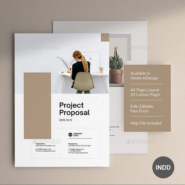 Project Proposal 20 Pages