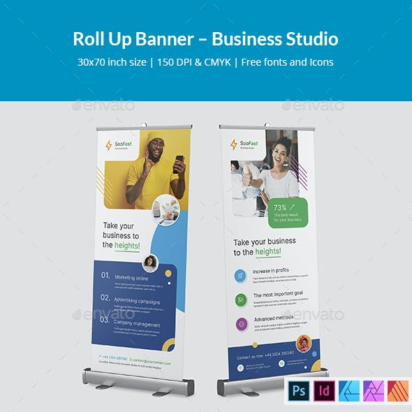 Roll Up Banner – Business Studio