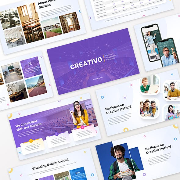 Creativo - Education Prowerpoint Template