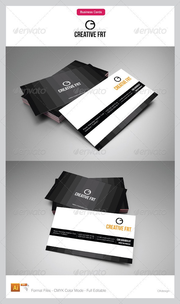 corporate business cards 35 - Creative Business Cards