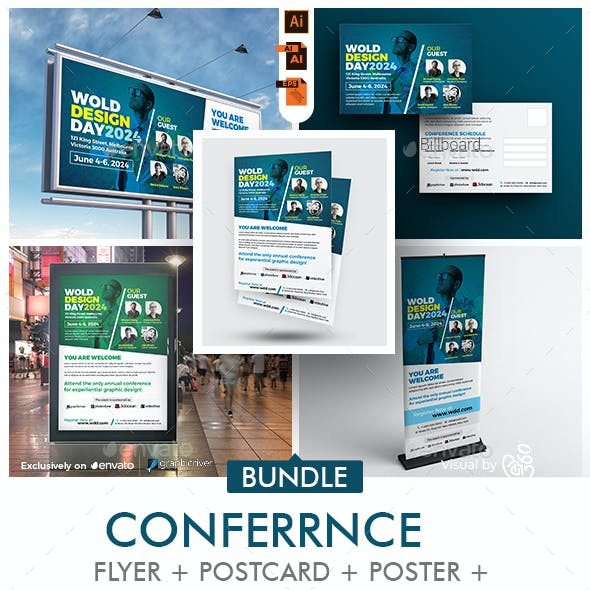 Business Event   Conference Bundle Template