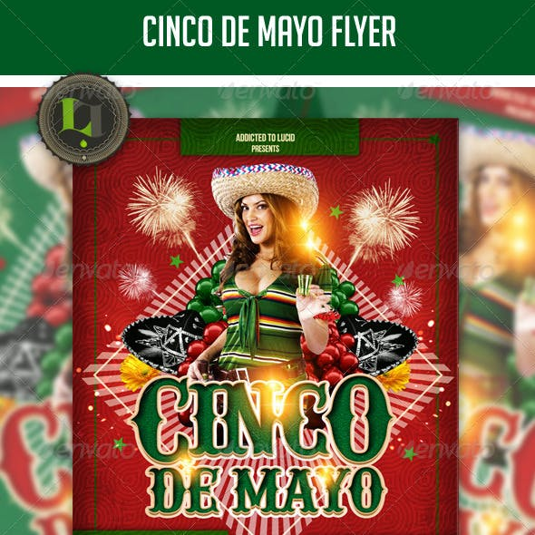 Cinco De Mayo Club Flyer
