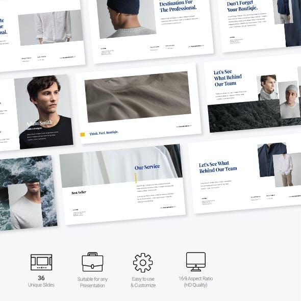 Jojoba - Fashion Business Presentation Google Slides