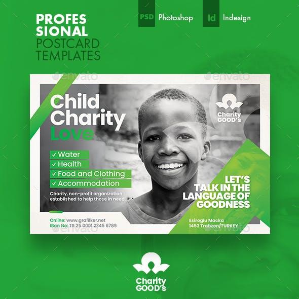 Charity Postcard Templates