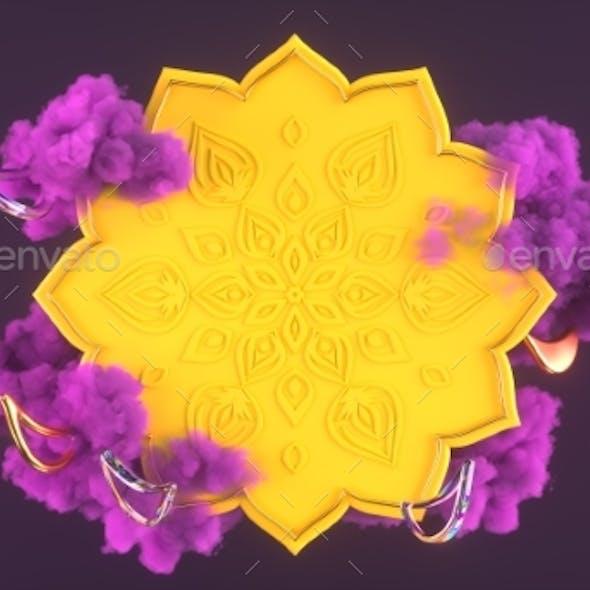 Diwali Festival of Lights Scene