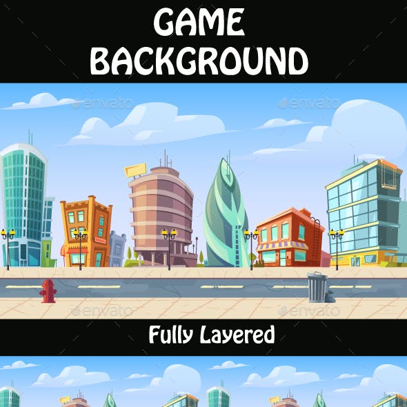 City Game Background  10