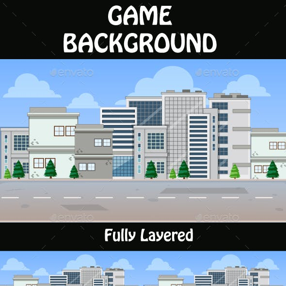 City Game Background  11