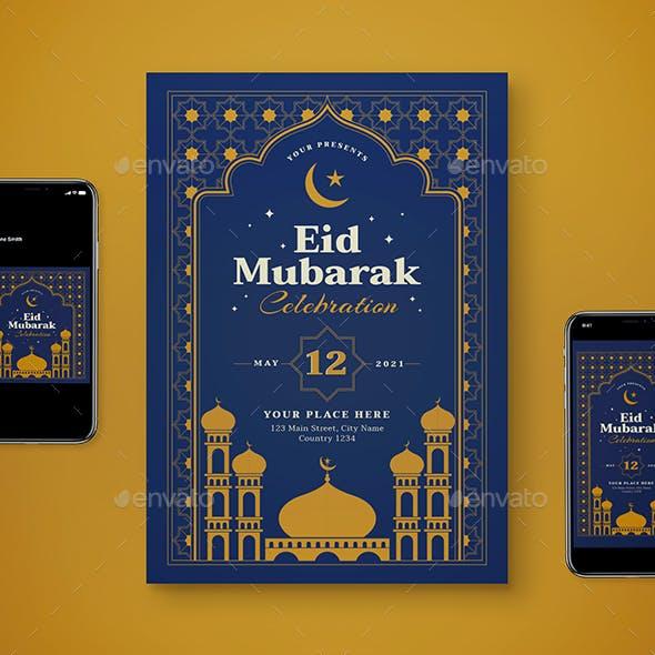 Ramadhan Flyer Set