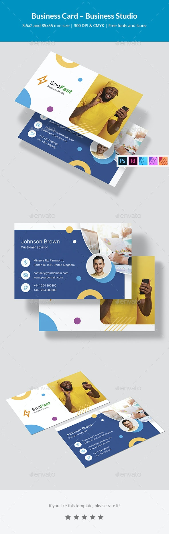 Business Card – Business Studio - Corporate Business Cards