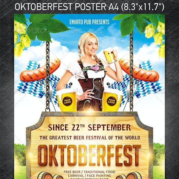 Oktoberfest festival poster