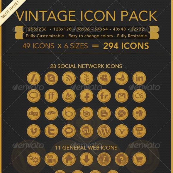 Vintage Icons Pack