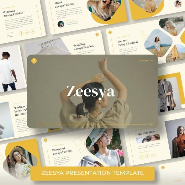 Zeesya-Fashion Powerpoint Template
