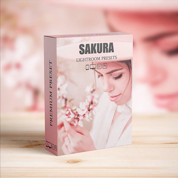 Sakura Rose Gold Lightroom Presets for Mobile and Desktop